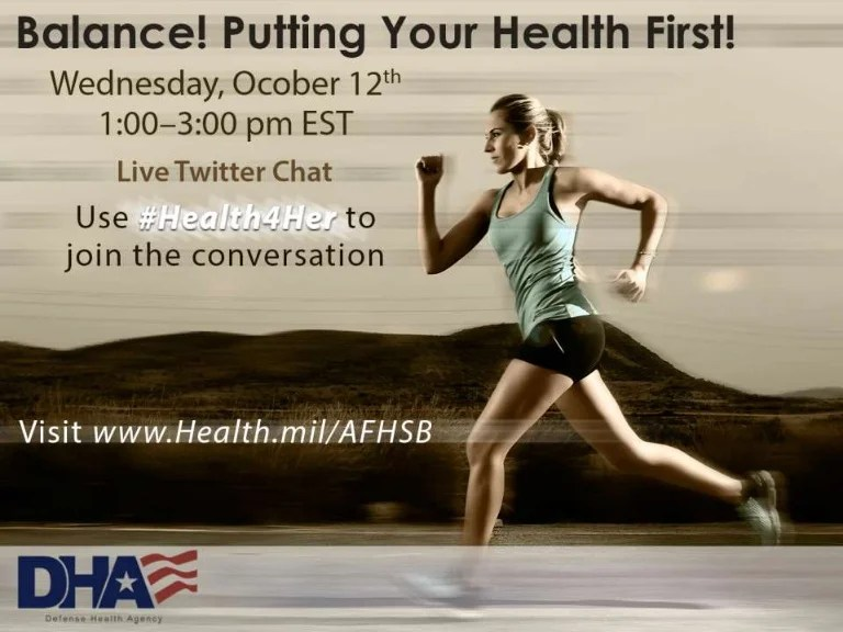 #Health4Her Women's Health Chat: Balance! Putting Your ...
