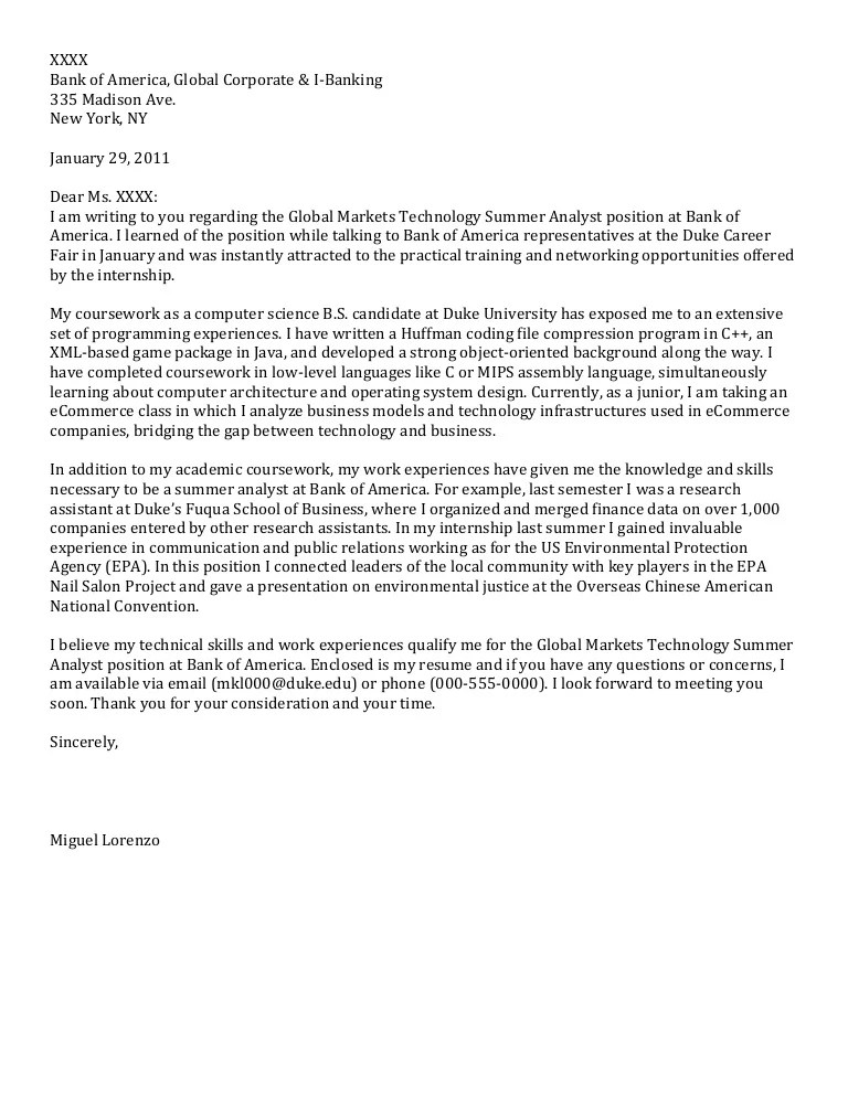 Letters Of Recommendation For Job