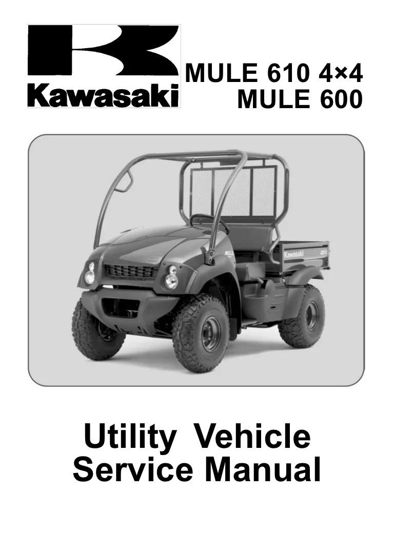Kawasaki Mule 610 Wiring Diagram  Somurich