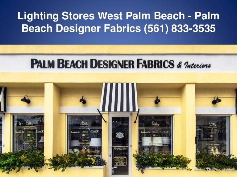 fabric stores west palm beach fl