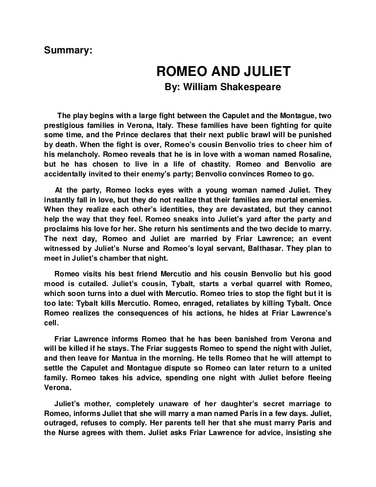 Image Result For Romeo And Juliet Act Scene Ysis Of Language