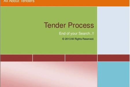 Tender Process   A Complete Procurement Guide