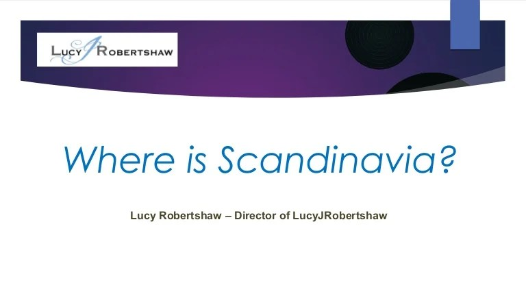 Where Is Scandinavia Presented At Biowednesday On1st Feb In London