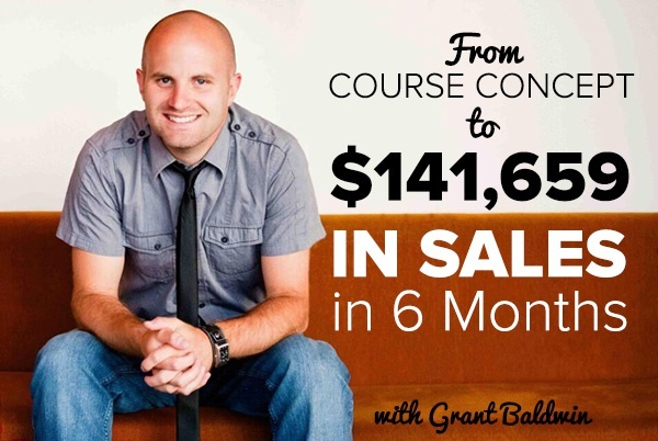 Course Concept to $141,659 in Sales