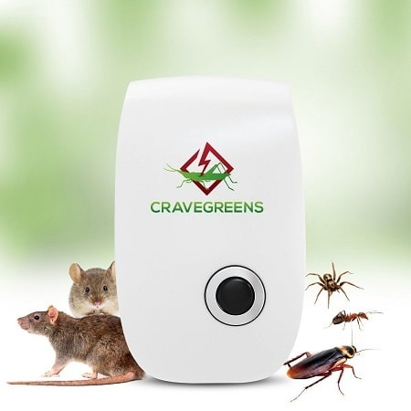 Cravegreens Pest Control Ultrasonic Repellent Rats and Insects