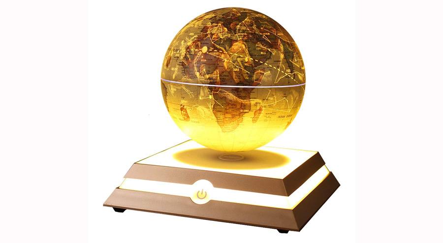 Kabaddi Magnetic Floating Globe Anti-Gravity Rotating Levitating Globe