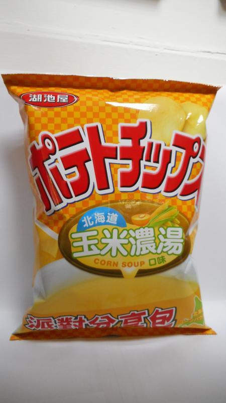 湖池屋 咔辣姆久 派對包 北海道玉米濃湯 - 通零食客 SNACKHOBBY - 零食評價網