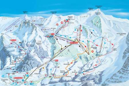 Idees Maison » map of alps ski resorts | Idees Maison