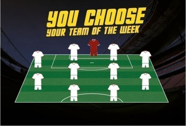 You Choose Your Team Of The Month