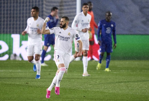 UEFA Champions League Report: Real Madrid v Chelsea 27 ...