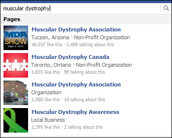facebook muscular dystrophy