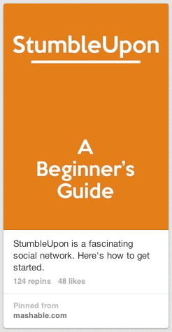 stumbleupon pin
