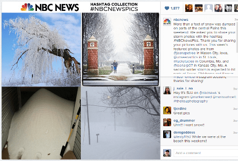 instagram nbc news feature