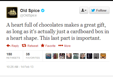 twitter old spice funny