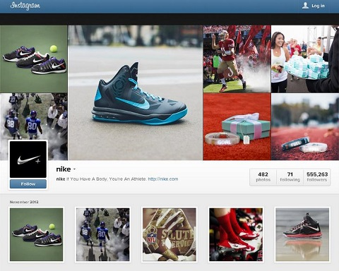 nike instagram profile