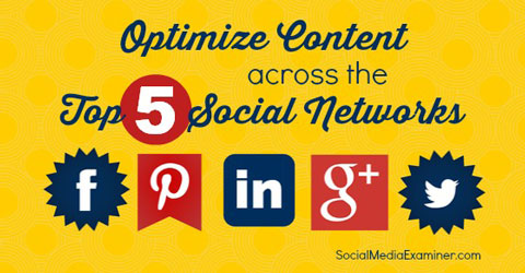 optimize content for social network updates