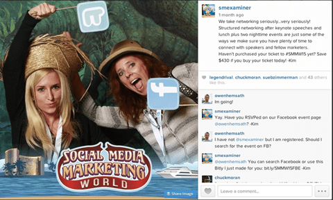 SMMW15 facebook photo booth image