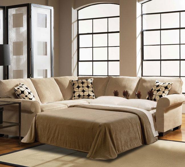 ethan 6627 sleeper sectional customize