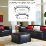 Dominic 129 Or 152 Conversation Sofas And Sectionals