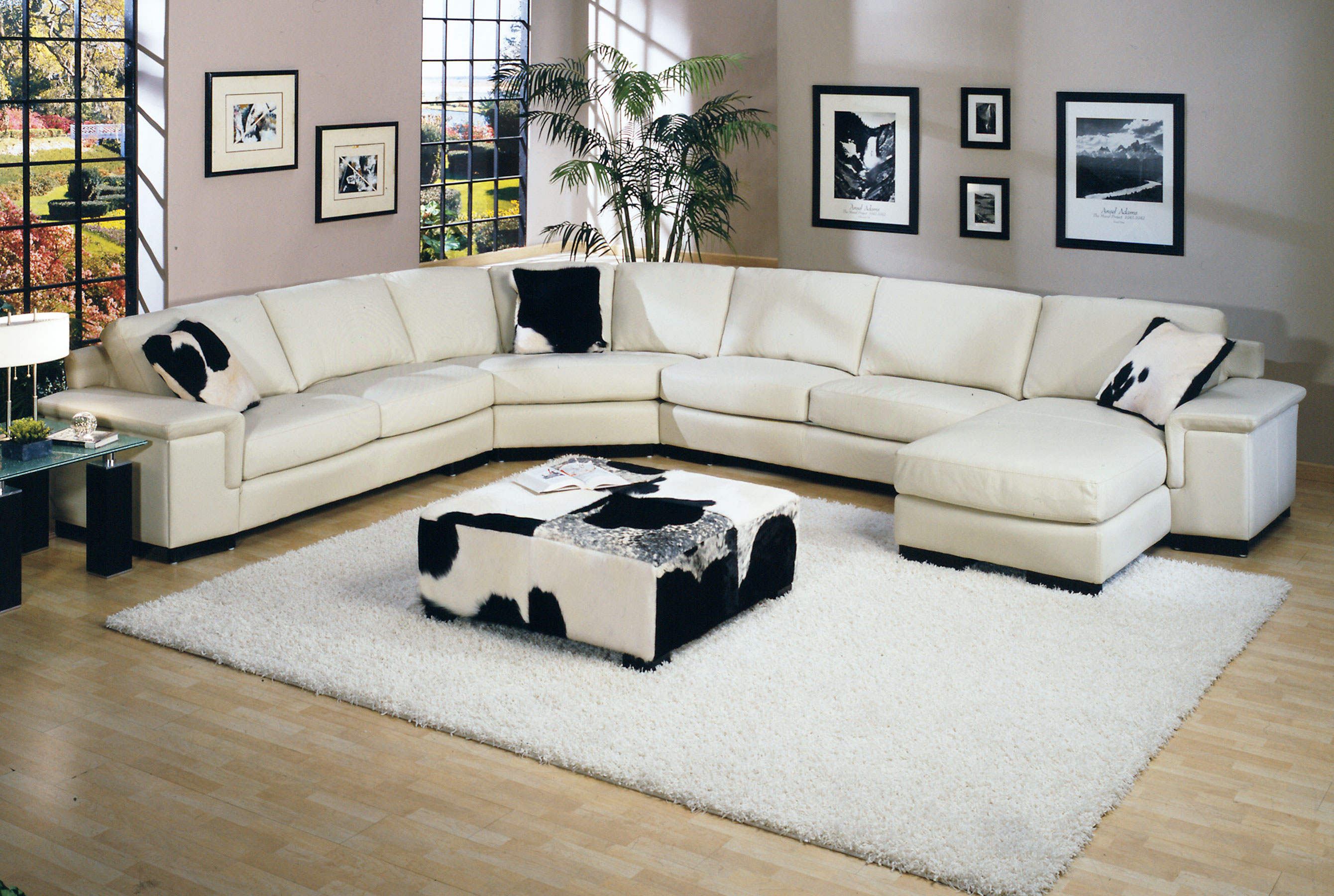 Mercedes Sectional All Leather Chaise Left Sofas And