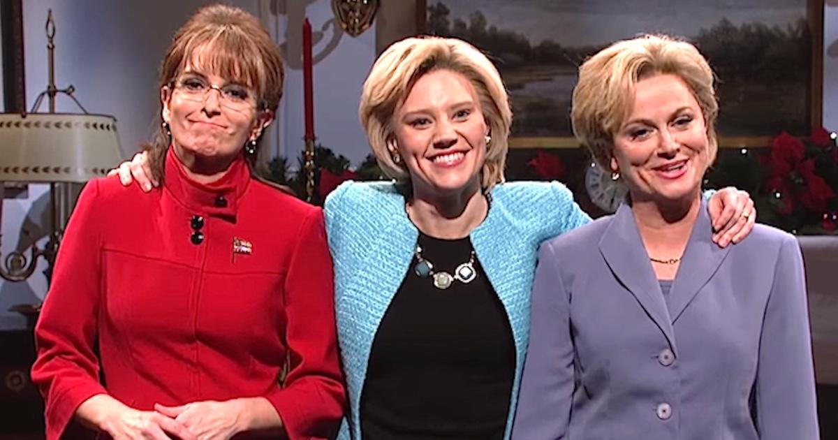 Tina Fey Amp Amy Poehler Are Sarah Palin Amp Hillary Clinton