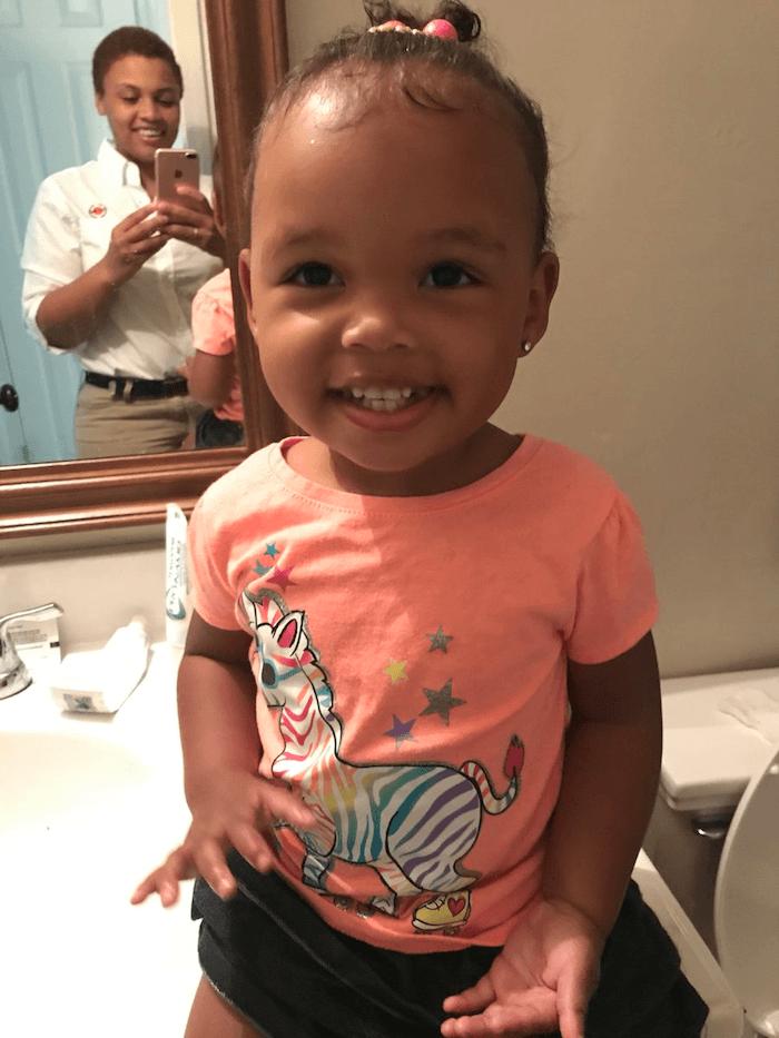 I Bathe My Daughter