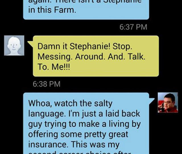 12 Hilarious Texting Disasters From Strangers Who Refused To Believe They Had A Wrong Number