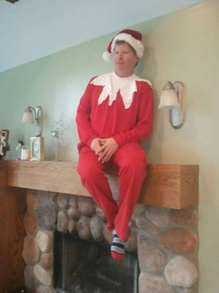 Real Live Elf On The Shelf Will Silently Judge Your