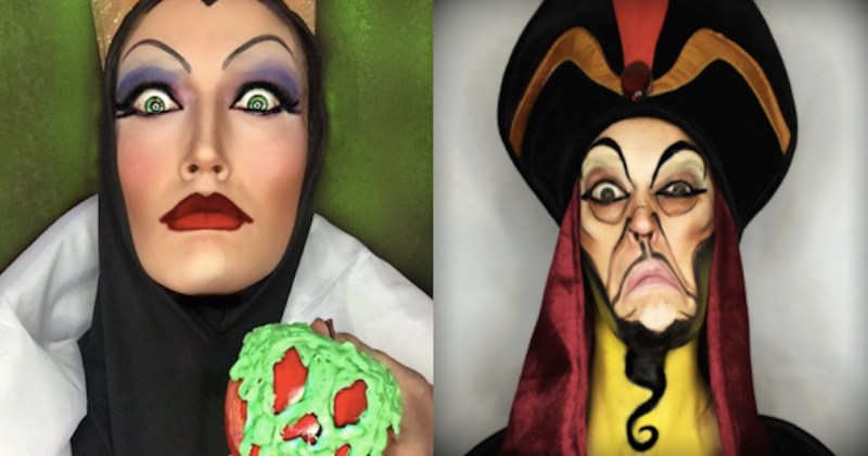 Disney Makeup MakeupinkCo - Makeup artist uses hijab to transform herself into disney characters