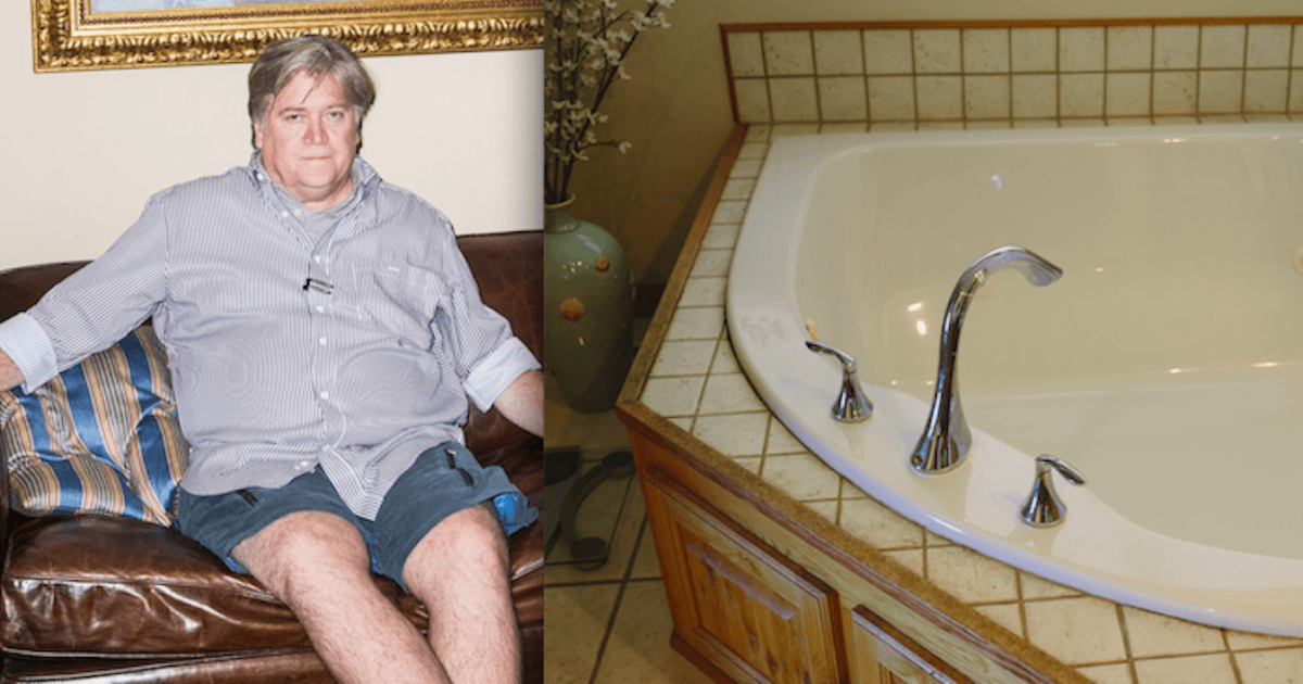 Steve Bannon Allegedly Destroyed His Rental Homes Jacuzzi With Acid And People Have Questions