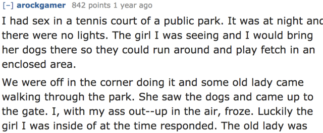 12 Of The Craziest Public Sex Stories From People Who Dont Mind An Audience