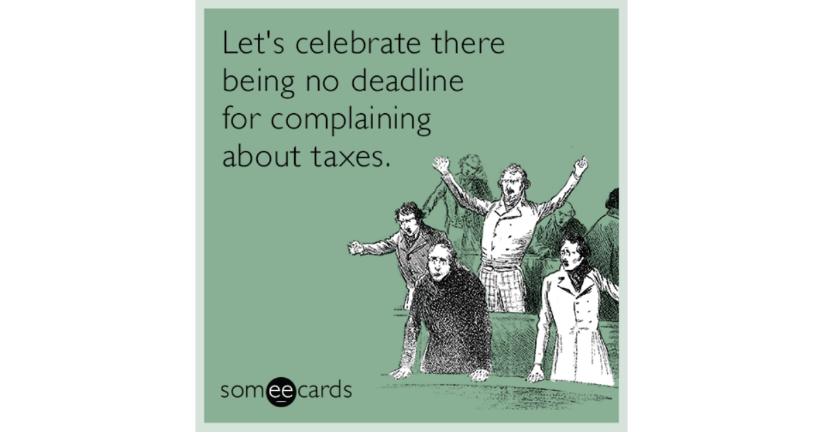 Let S Celebrate There Being No Deadline For Complaining