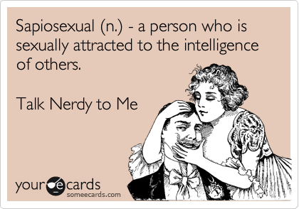 Image result for sapiosexual ecard
