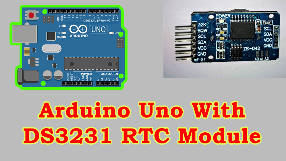 Set Time on DS3231 Real Time Clock With Arduino UNO - Som Tips