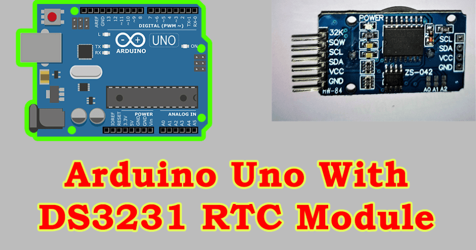 Set Time on DS3231 Real Time Clock With Arduino UNO
