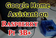 Google Home Assistant on Raspberry Pi 3B Plus