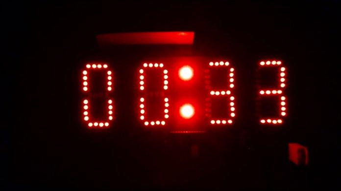 Big Digital Clock using Arduino Atmega328p DS1307 DHT22