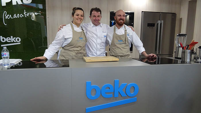 La Maquinista, Beko, electrodomésticos, taller de cocina sana, cocina saludable, martín berasategui, eat like a pro, road show, manuel royo, electrodomésticos, taller de cocina