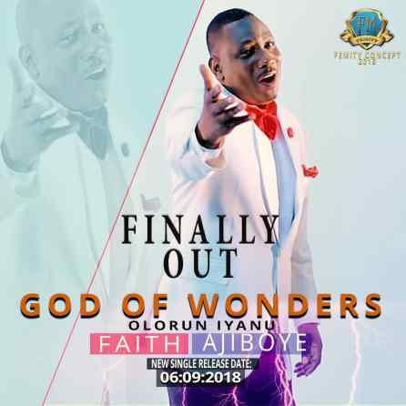 Faith AjiBoye - God Of Wonders Mp3 Download