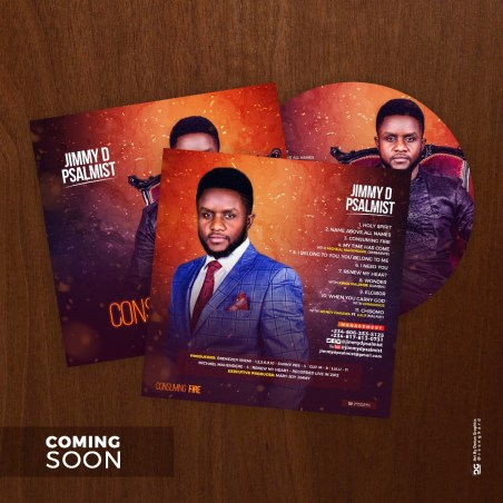 """Jimmy D Psalmist Set To Release New Album, """"Consuming Fire"""""""