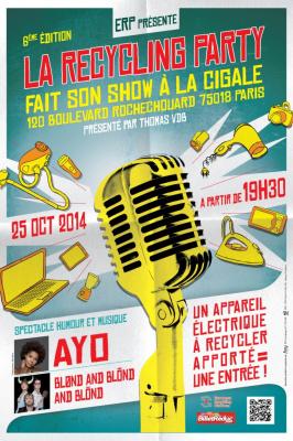 La Recycling Party 2014