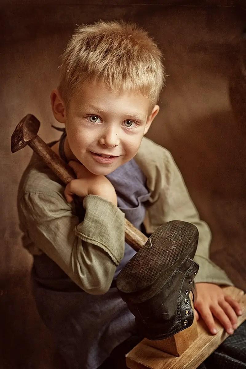 Immaculate Child Portraits By Karina Kiel Sortra