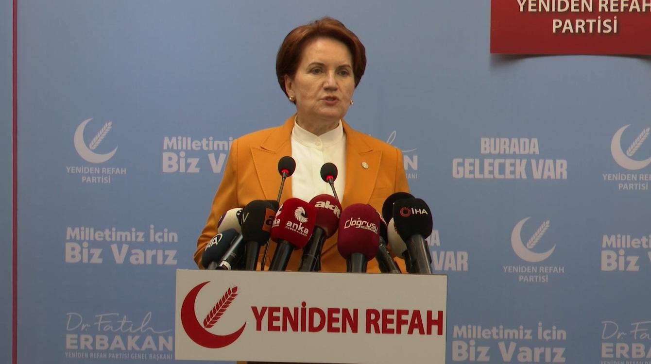 Akşener'den çarpıcı 'siyasi cinayet' açıklaması! Erdoğan'ın başbakanlık döneminden örnek verdi