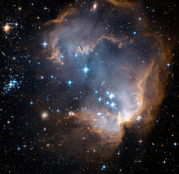 New stars shed light on the past | ESA/Hubble