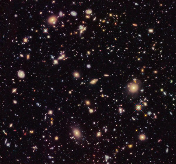 The Hubble Ultra Deep Field 2012 | ESA/Hubble