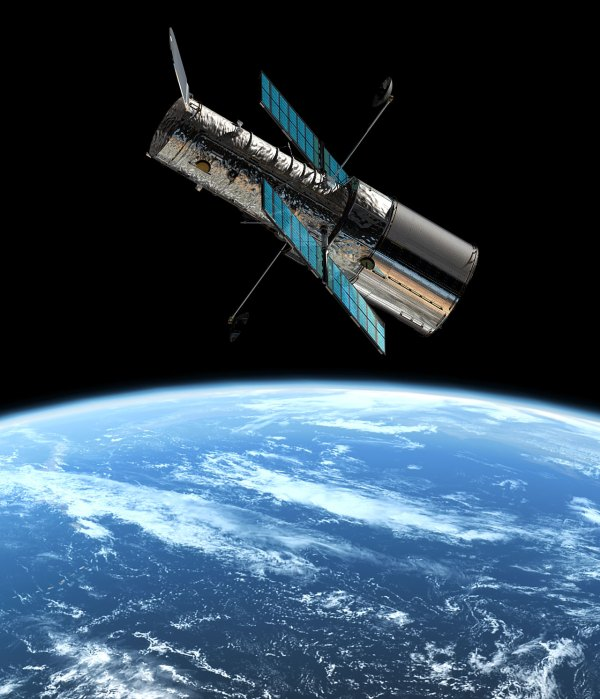 The Hubble Space Telescope in orbit | ESA/Hubble