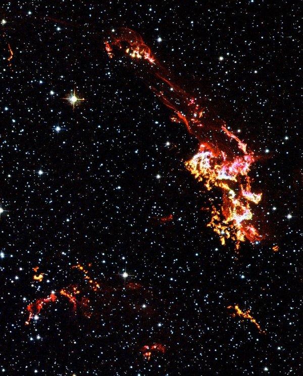 Hubble Space Telescope: Kepler's supernova remnant (close ...