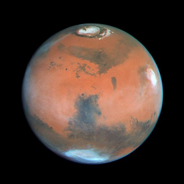 Four Views of Mars in Northern Summer | ESA/Hubble