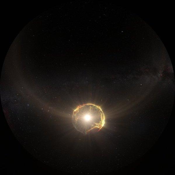 Fulldome 3D Animation of Supernova Explosion | ESA/Hubble