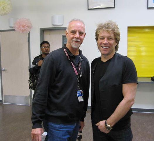 Jon Bon Jovi and Steve Lopez